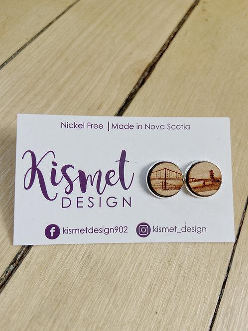 Halifax + Dartmouth Bridge Earrings | Kismet Design