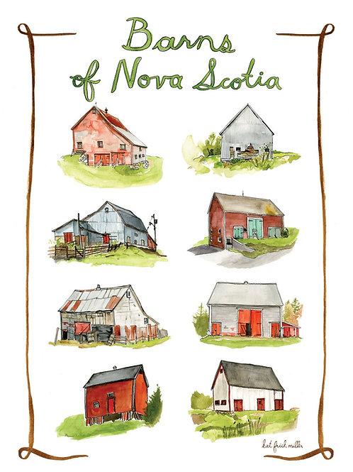 Barns of Nova Scotia | 11x14 | Kat Frick Miller