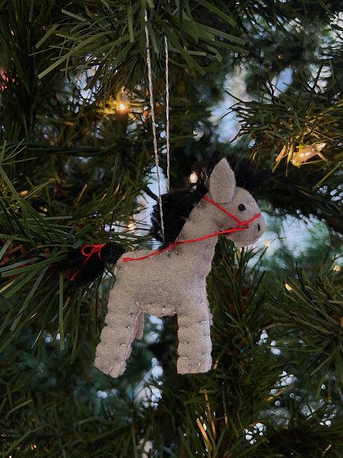 Horse Felt Ornament   Rosemary Taylor