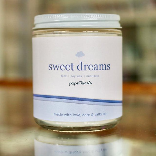 Sweet Dreams Candle | Halifax Paper Hearts