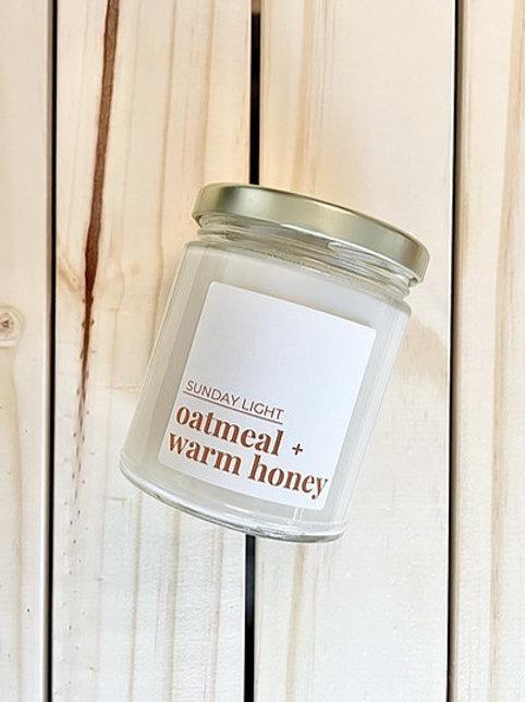 Oatmeal + Warm Honey | Sunday Light
