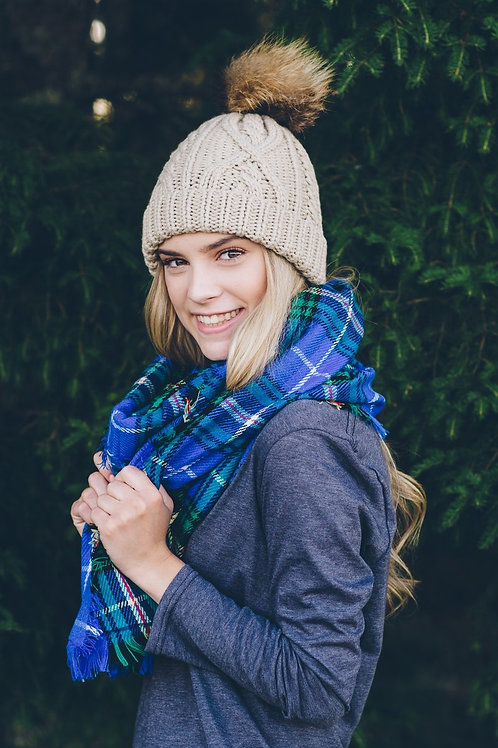 Nova Scotia Tartan Blanket Scarf | My HOME Apparel