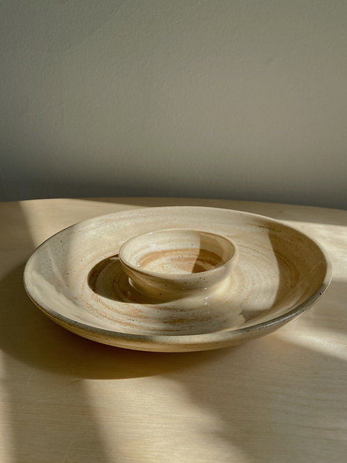 Marble Chip +  Dip | Anderson Pottery