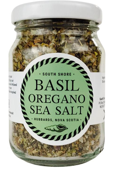 Basil Oregano Sea Salt | South Shore Sea Salt