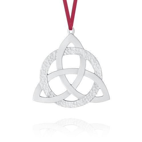 Celtic Trinity Ornament | Amos Pewter