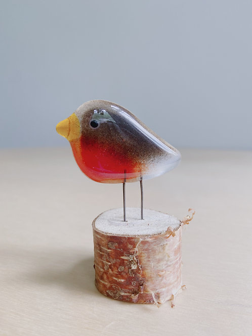 Small Standing Robin | The Glass Bakery