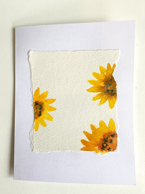 Sunflowers- Card | Irony Arts