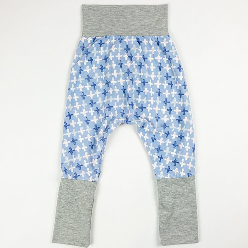 Grow-With-Me Pants | Blue Plus + Grey