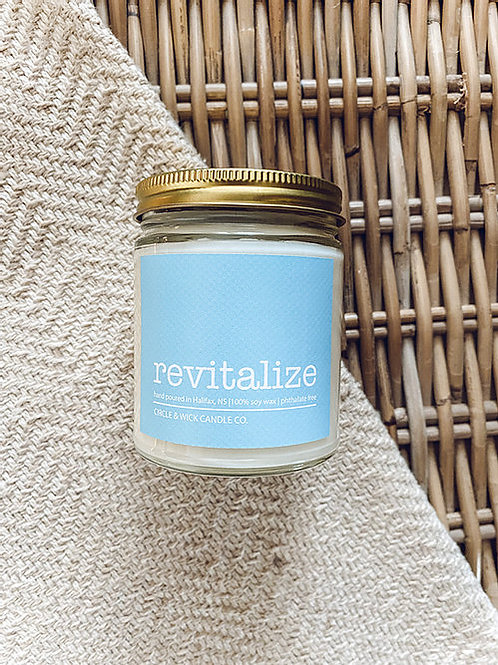 Revitalize Candle | Circle & Wick Candle Co.
