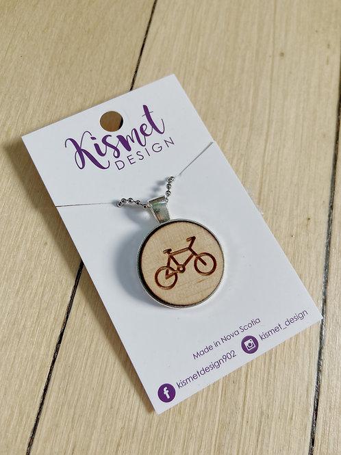 Bicycle Necklace   Kismet Design