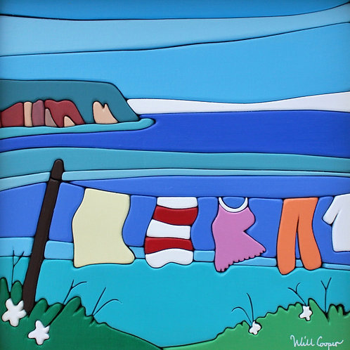 Little Blomidon Clothesline Card | Will Cooper