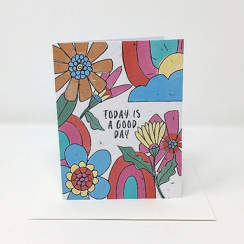 Today is a Good Day- Wildflower Seed Card   Jill + Jack Paper