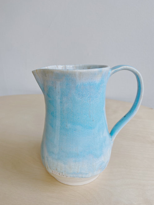 Sea + Sand Pitcher | Kym's Pottery Studio