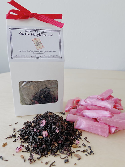 On the NaughTea List- Black Tea Blend | Sense + SensibiliTea