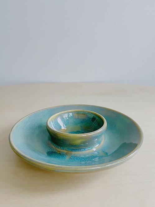 Fundy Spray Chip +  Dip | Anderson Pottery