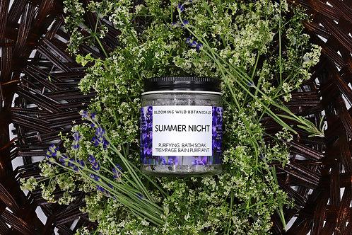 Summer Night Purifying Bath Soak -4oz | Blooming Wild Botanicals