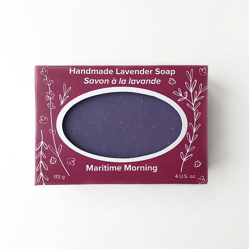Maritime Morning Soap | Seafoam Lavender Co.