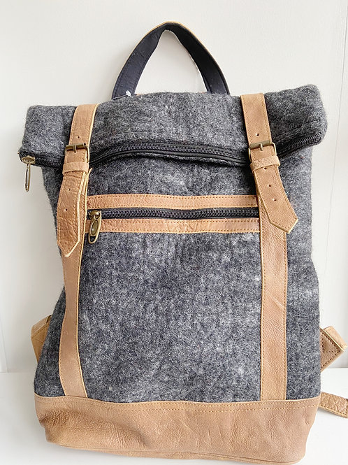 The Essential Backpack- Charcoal | Fibres of Life