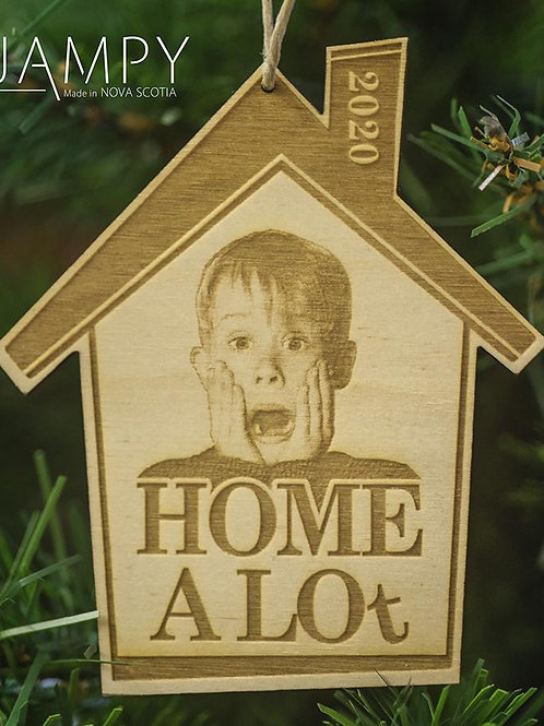 Home A Lot Ornament | Jampy
