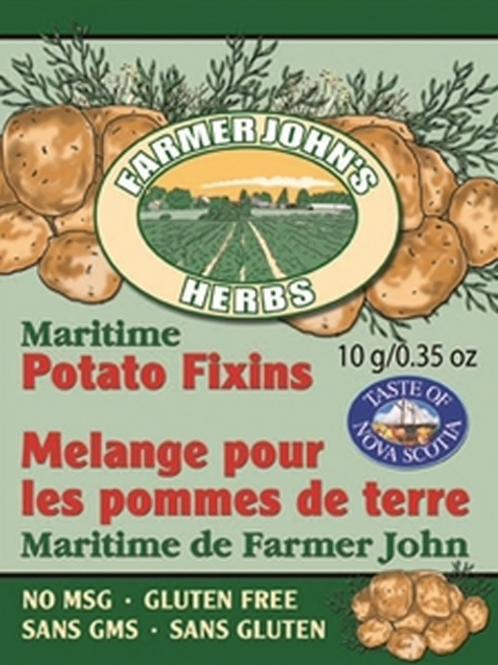 Maritime Potato Fixins | Farmer John's Herbs