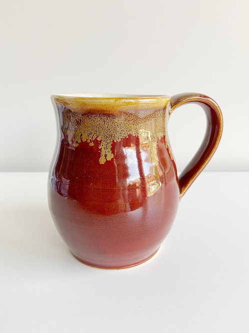 Antique Red Mug | Anderson Pottery
