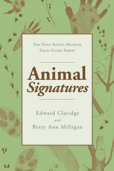 Animal Signatures | Nimbus Publishing