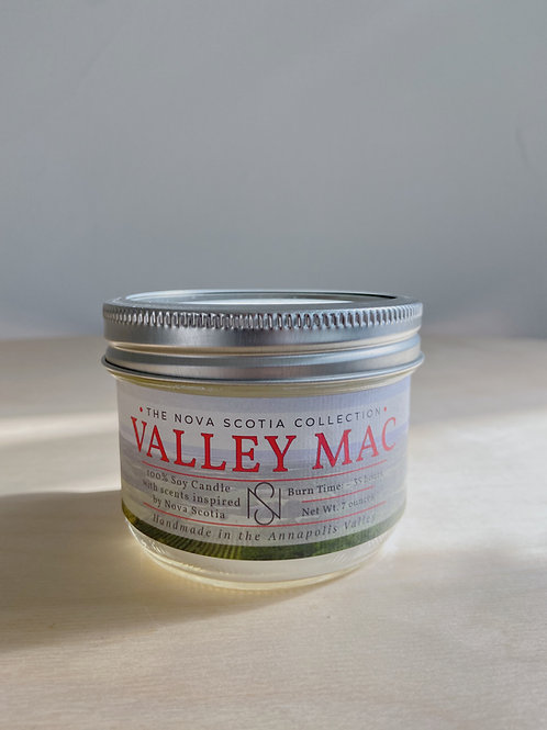 Valley Mac Candle   New Scotland Candle Co.