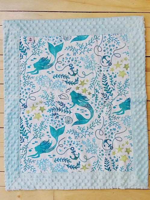 Minky Blanket | Mermaid | RoseBay Quilts