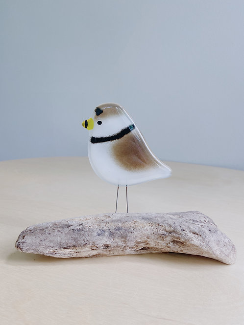 Large Standing Plover | The Glass Bakery