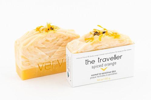 The Traveller -Spiced Orange Soap   Verv Skin
