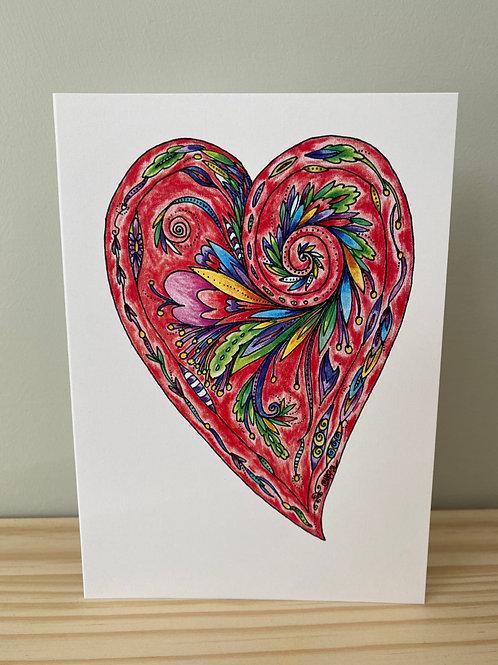 Heart Card   Helen Painter