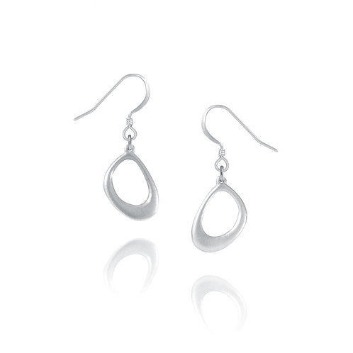 Raindrop Earrings | Amos Pewter