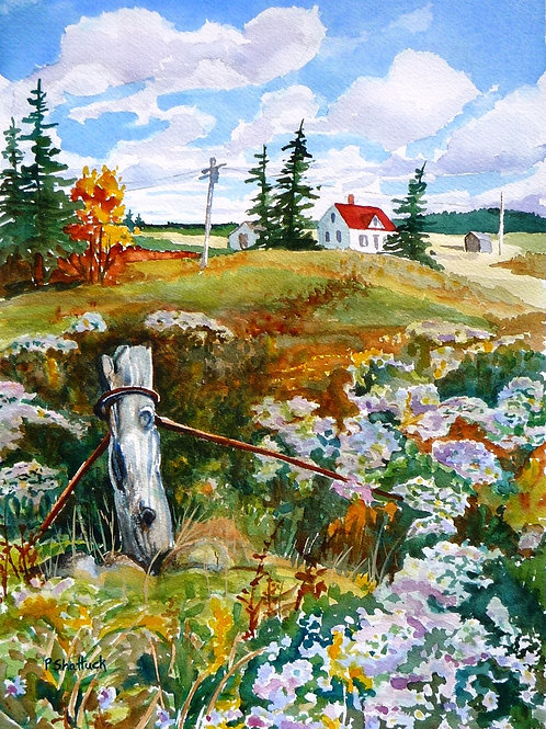 Clouds- Original Painting | Pat Shattuck
