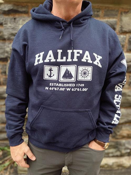 Halifax Nautical Hoodie | Tall Ships Trading Co.