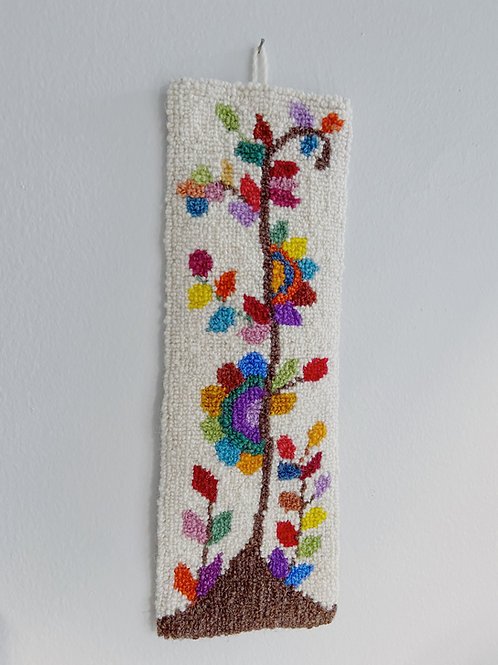 Tree of Life Hanging | Cheticamp Rug Rooking