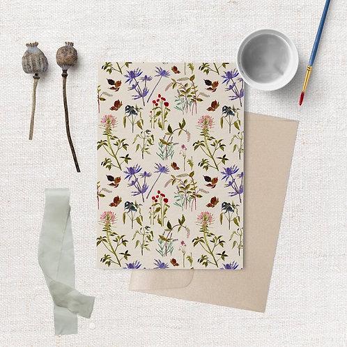 Cottage Wallpaper Card | Briana Corr Scott