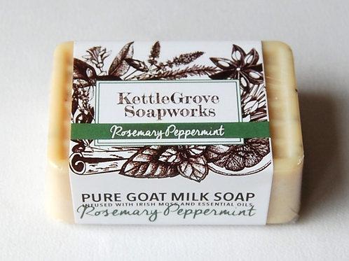 Rosemary Peppermint Goat Milk Soap | Kettlegrove Soapworks