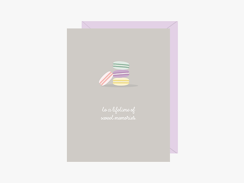 A Lifetime of Sweet Memories Card   Halifax Paper Hearts