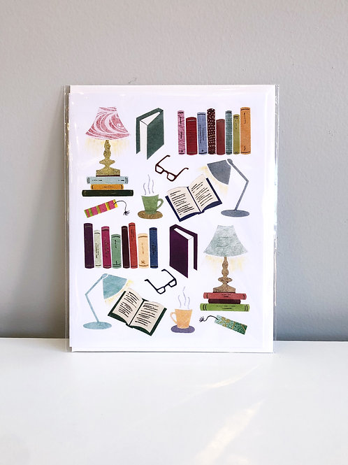 Book Lover Card | Cards by Kate