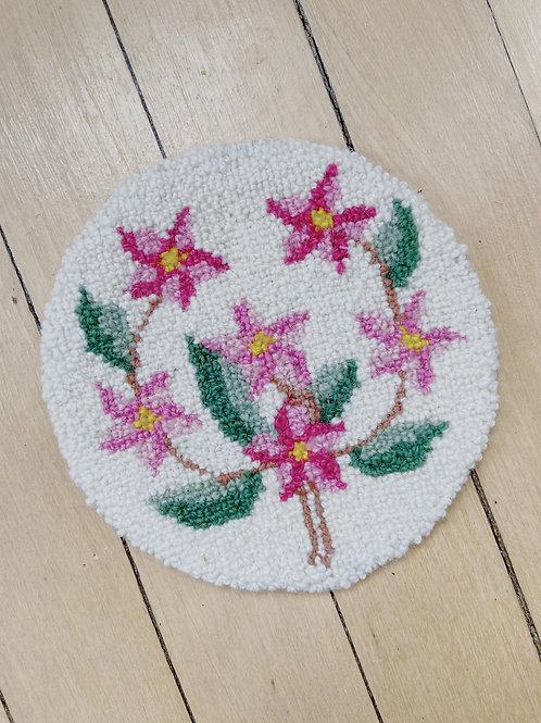 Mayflower Round Mat | Cheticamp Rug Hooking