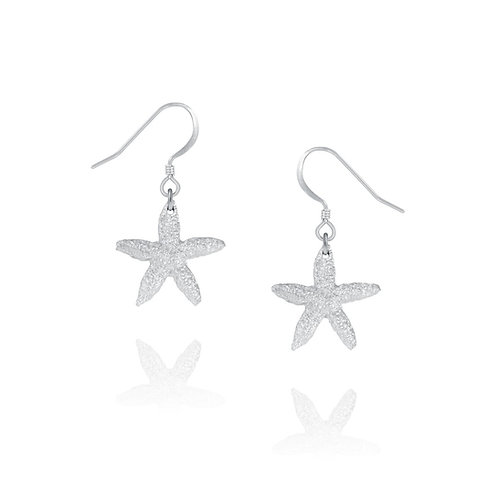 Starfish Earrings | Amos Pewter