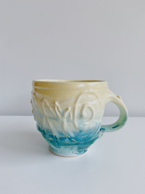 Lemon Mist Latte Mug | Robert McMillan Pottery