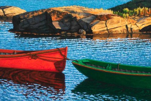 Late Afternoon Blue Rocks | Paul Hannon