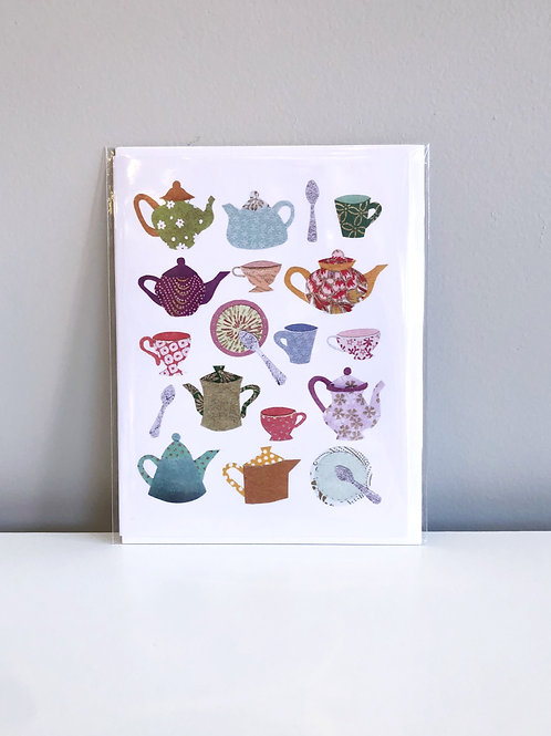 Afternoon Tea Card | Cards by Kate