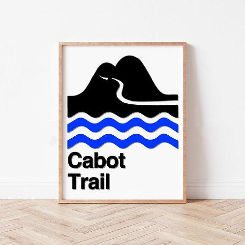 Cabot Trail Wall Art | Nova Scotia Scenic Drive Series | The Boathouse