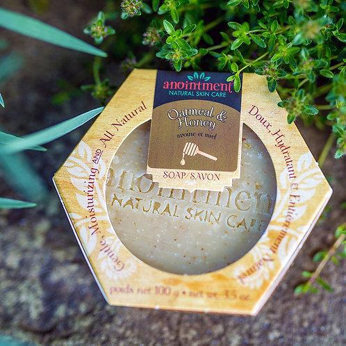 Oatmeat + Honey Soap| Anointment