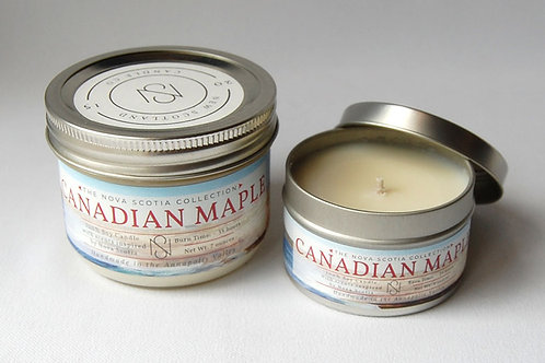 Candian Maple Candle | New Scotland Candle Co.