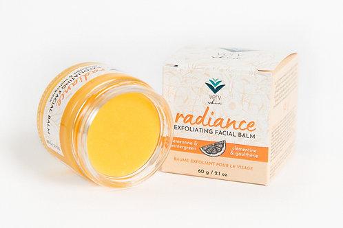 Radiance Exfoliating Facial Balm   Clementine & Wintergreen   Verv Skin