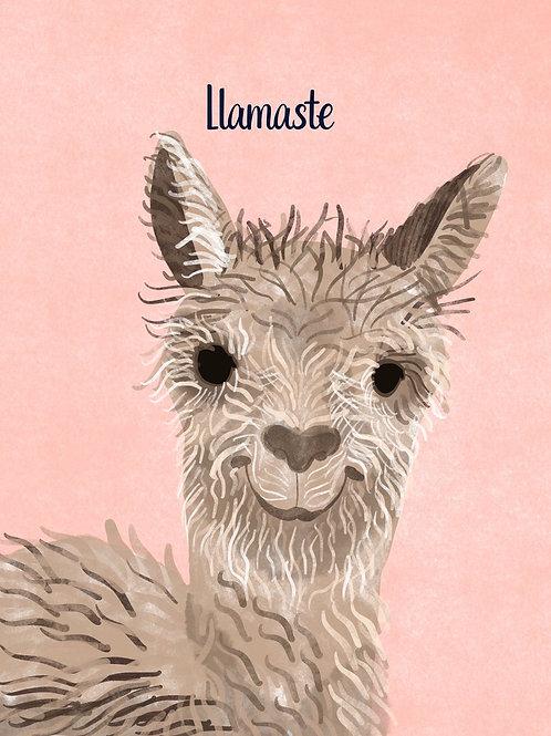 Llamaste Card | Poplar Paper Co.