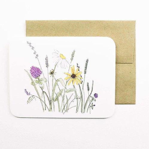 Field Flowers Card | Field Day Paper